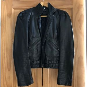 Phillip Lim 3.1 Development Black Leather Jacket